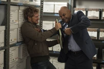 Iron Fist, proving books are more powerful than violence