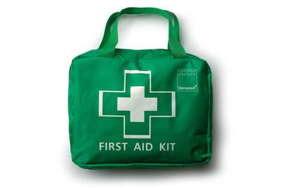 Steroplast Premium 70-Piece First-Aid Kit Bag
