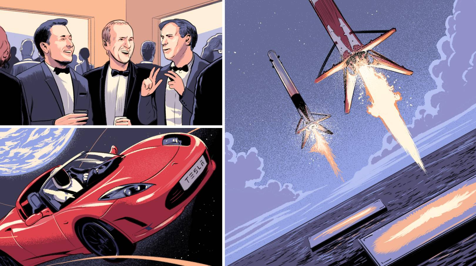 What's driving Elon Musk? We asked the people that know him best