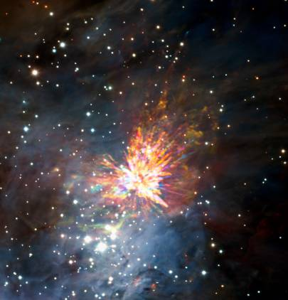 Stellar fireworks