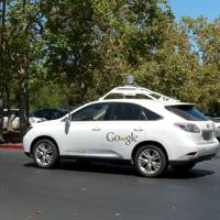 One of Google's self-driving fleet