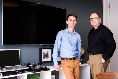 Presence Orb founders Thomas Sheppard (left) and Alan Graham (right)
