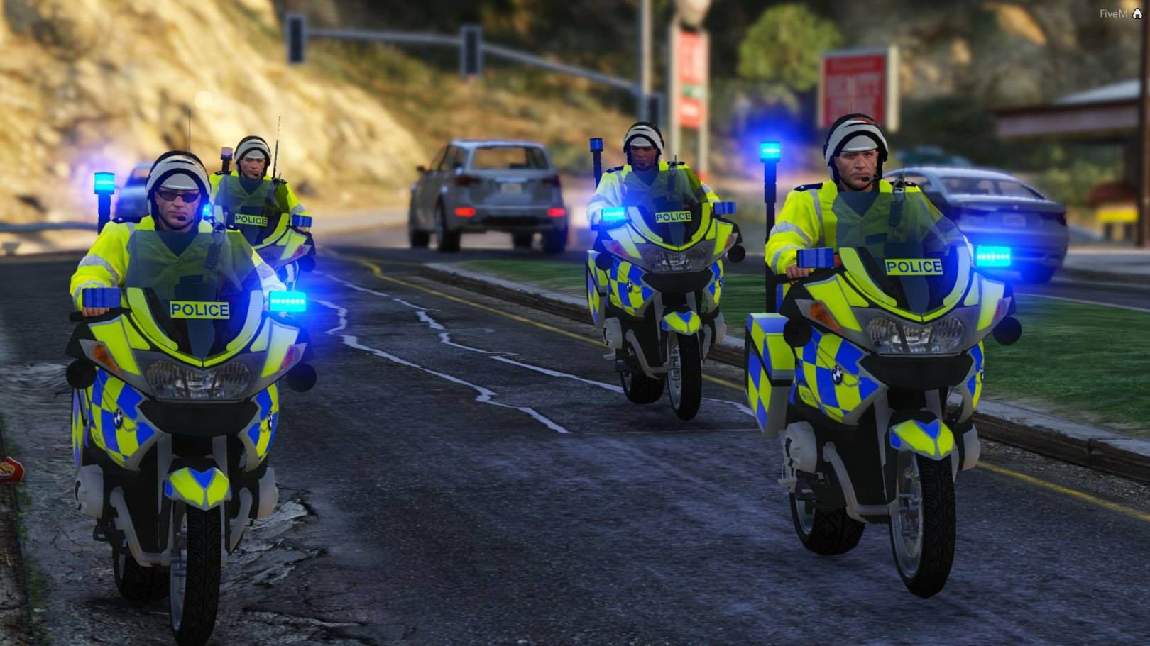 Meet the modders who play GTA 5 as mild-mannered British cops | WIRED UK