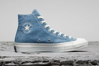 Converse's new trainers are made from 11 plastic bottles per pair