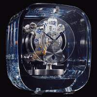 9.	Clock : Jaeger-LeCoultre Atmos 568 By Marc Newson