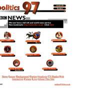 BBC politics website, 1997