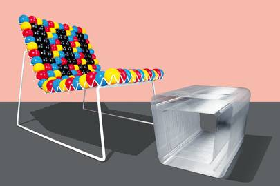 Antistress Chair by Bashko Trybek and 40,000 by Kenichi Masuda