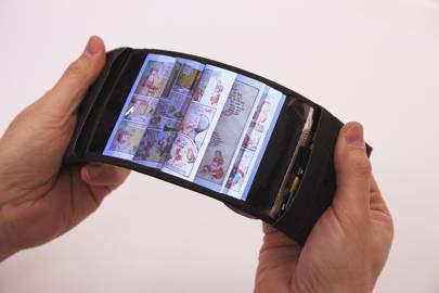 The ReFlex bendable phone