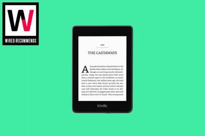 E-reader: Amazon Kindle Paperwhite