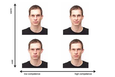 Facial clues such as warmth and competence influence how social exclusion is judged
