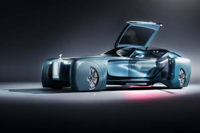 Rolls Royce's Vision Next 100