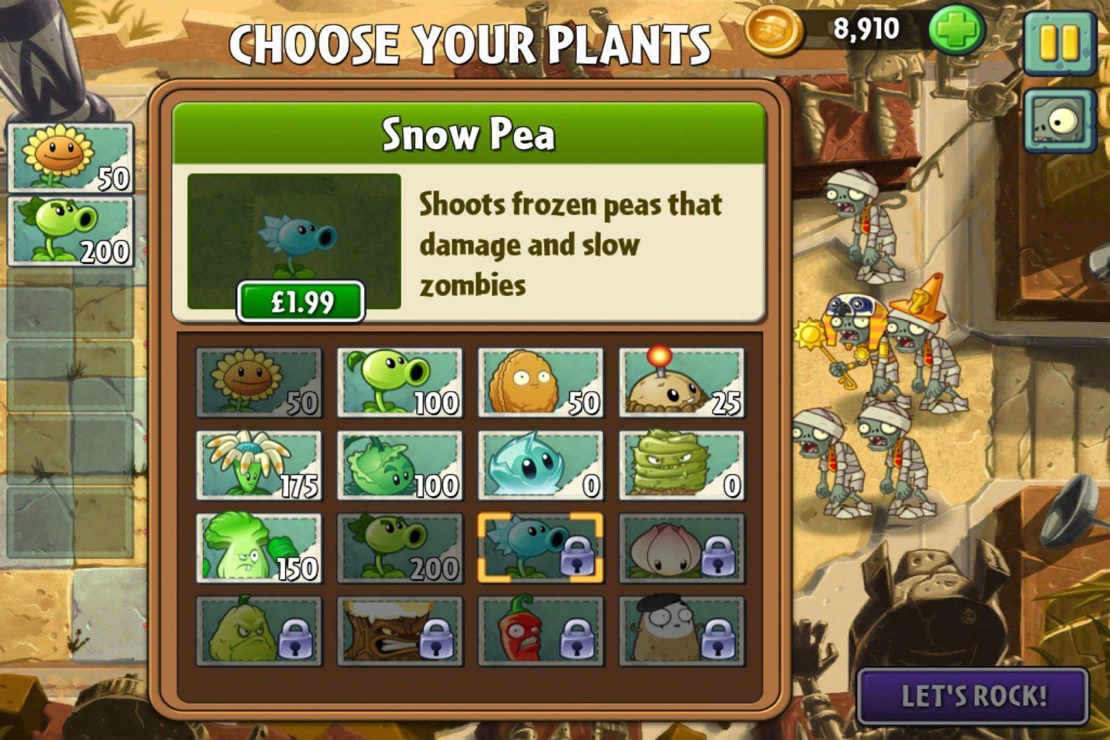 Plants vs  Zombies 2 review: it's about in-app payments ruining