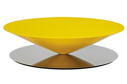 Conical coffee table