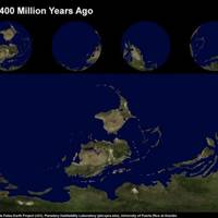 Earth 400 Million Years Ago