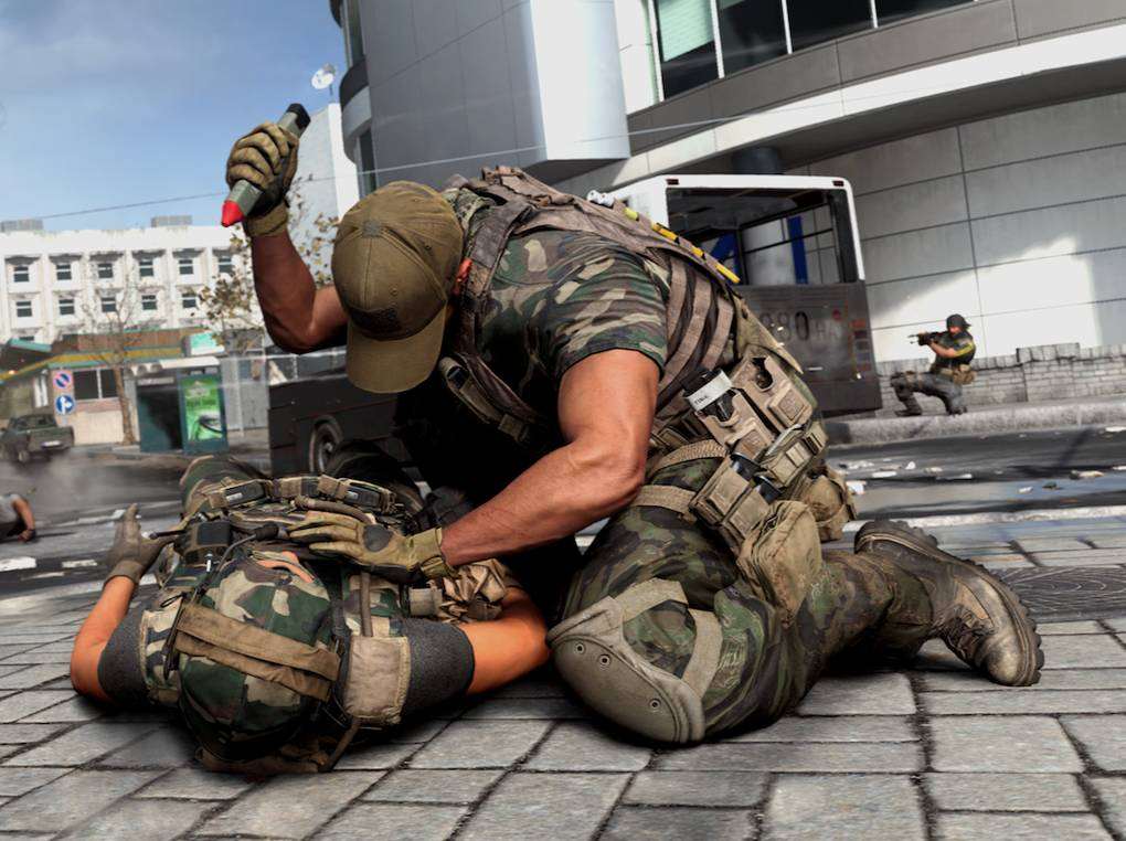 Call of Duty wants to make you feel bad for killing people. It doesn't