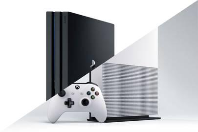 Xbox One Vs Xbox One S : Xbox one vs xbox one s side by side photo comparison cnet