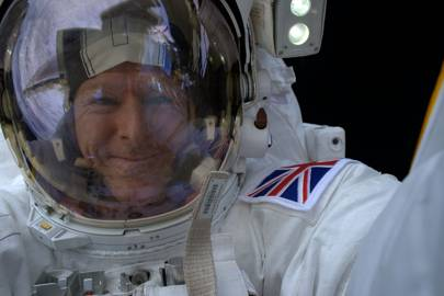 Tim Peake: space walk
