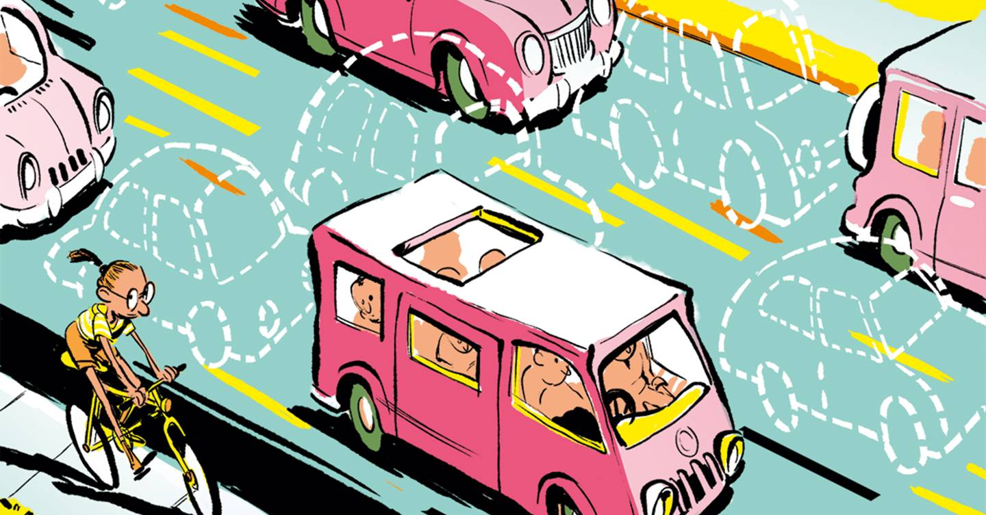 Car-pooling is a simple fix for our broken city transport systems