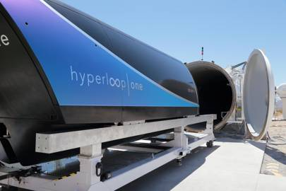 Hyperloop One capsule