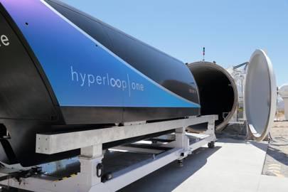 Hyperloop One capsule