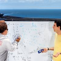 Rooftop maths with Jeremy Howard and Kaggle CEO Anthony Goldbloom