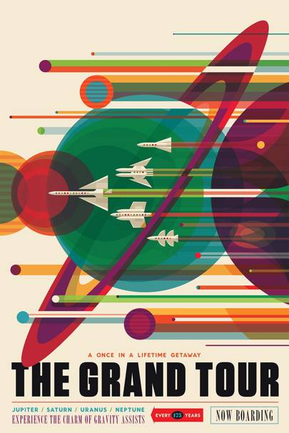 Marvel at Nasa's gorgeous travel posters advertising the best sights in the Universe