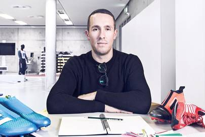Sam Handy, vice president of design at adidas football: Handy worked on the Future Lab's laceless boot, the Ace 16+ PureControl