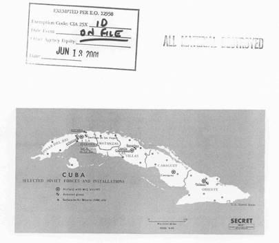 1963 Cuba soviet forces