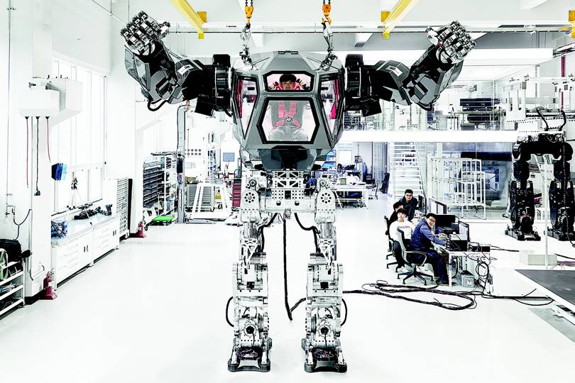 Meet Method 2 The Korean Megabot Straight Out Of Sci Fi Wired Uk