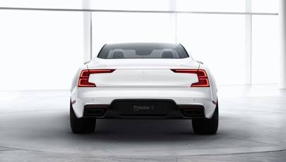 The Polestar 1´s upper body is made of carbon fibre for stiffness torsional rigidity and weight savings     Volvo