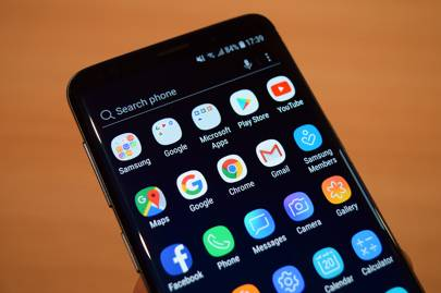 modificare menu a tendina samsung s9