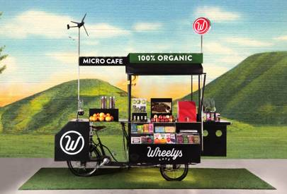 Wheely's latest cafe cart