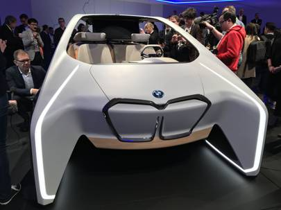 Bmw Used The Show To Announced A Partnership With Intel Bring Its Self Driving Cars Road In 2017