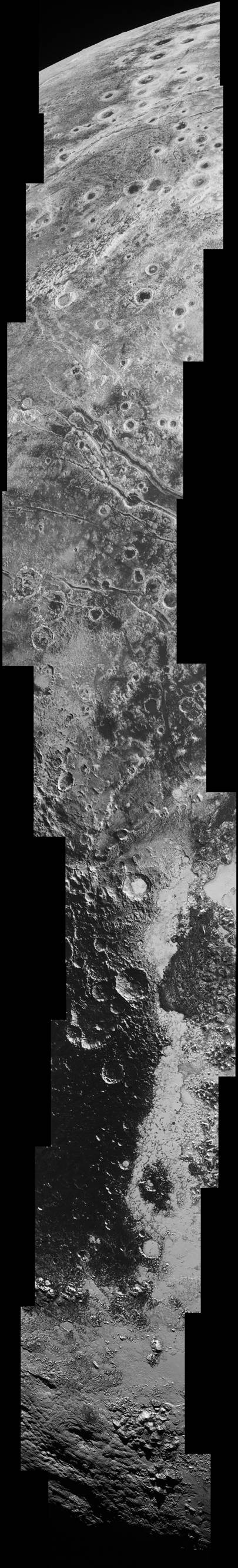 Huge new Pluto image shows potential ice volcano