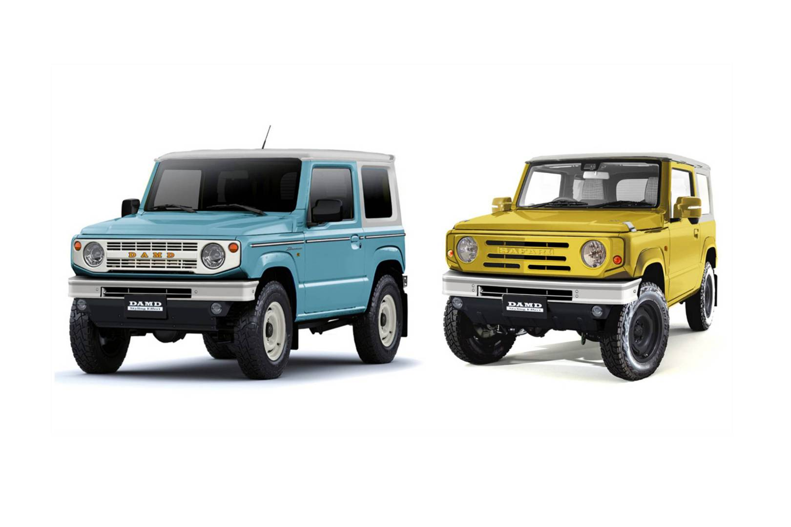 How To Turn Your Suzuki Jimny Into A Bronco G Wagen Or Defender Wired Uk