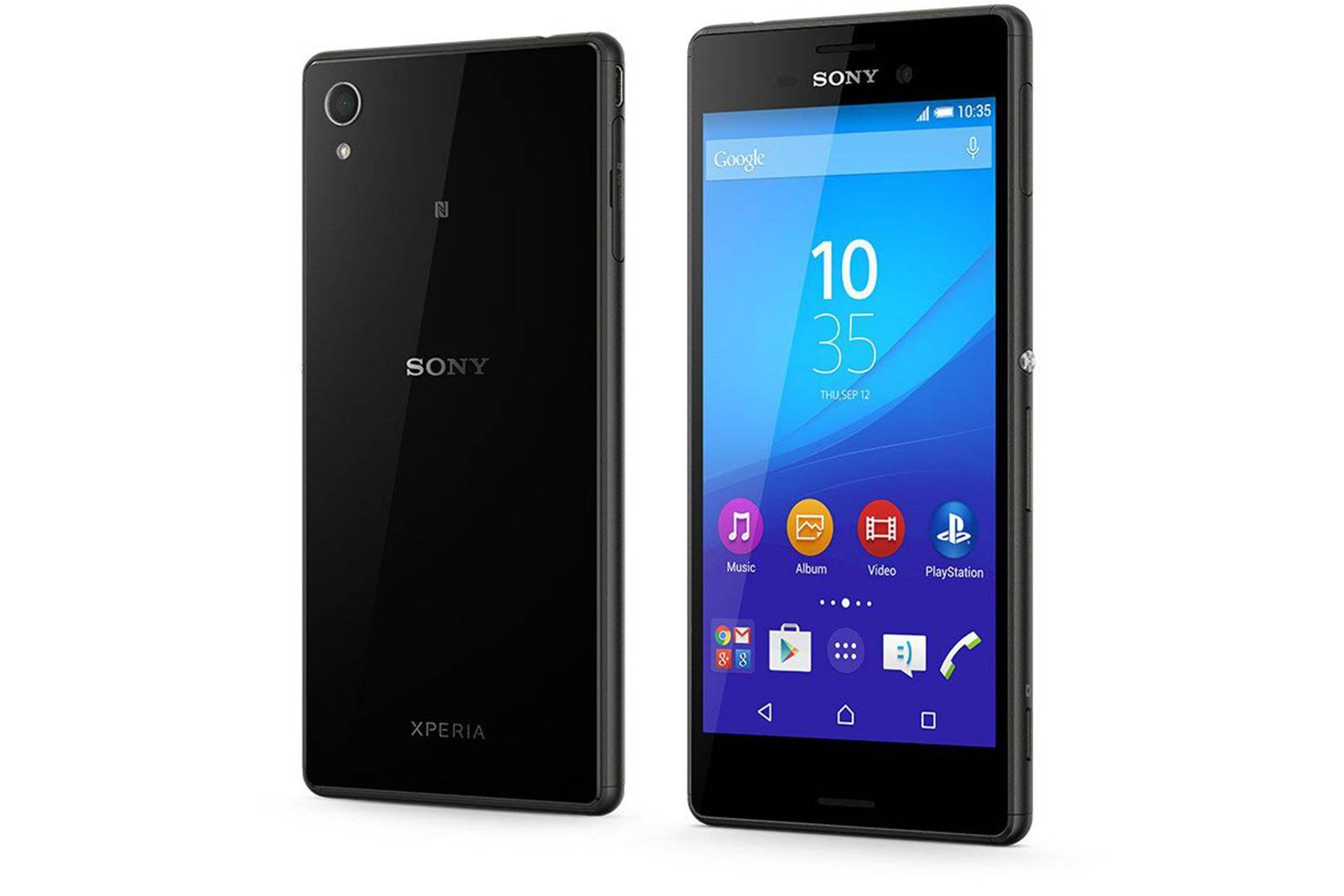 Overview of the smartphone Sony Xperia M Dual