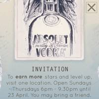 Absolut Silverpoint -- The Andy Warhol bottle