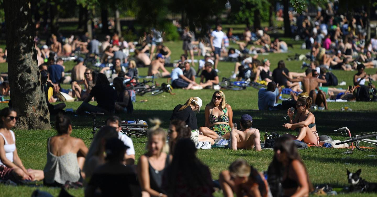 You shouldn't worry about people filling parks during lockdown