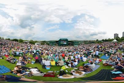 360-degree video of Wimbledon Tennis championships