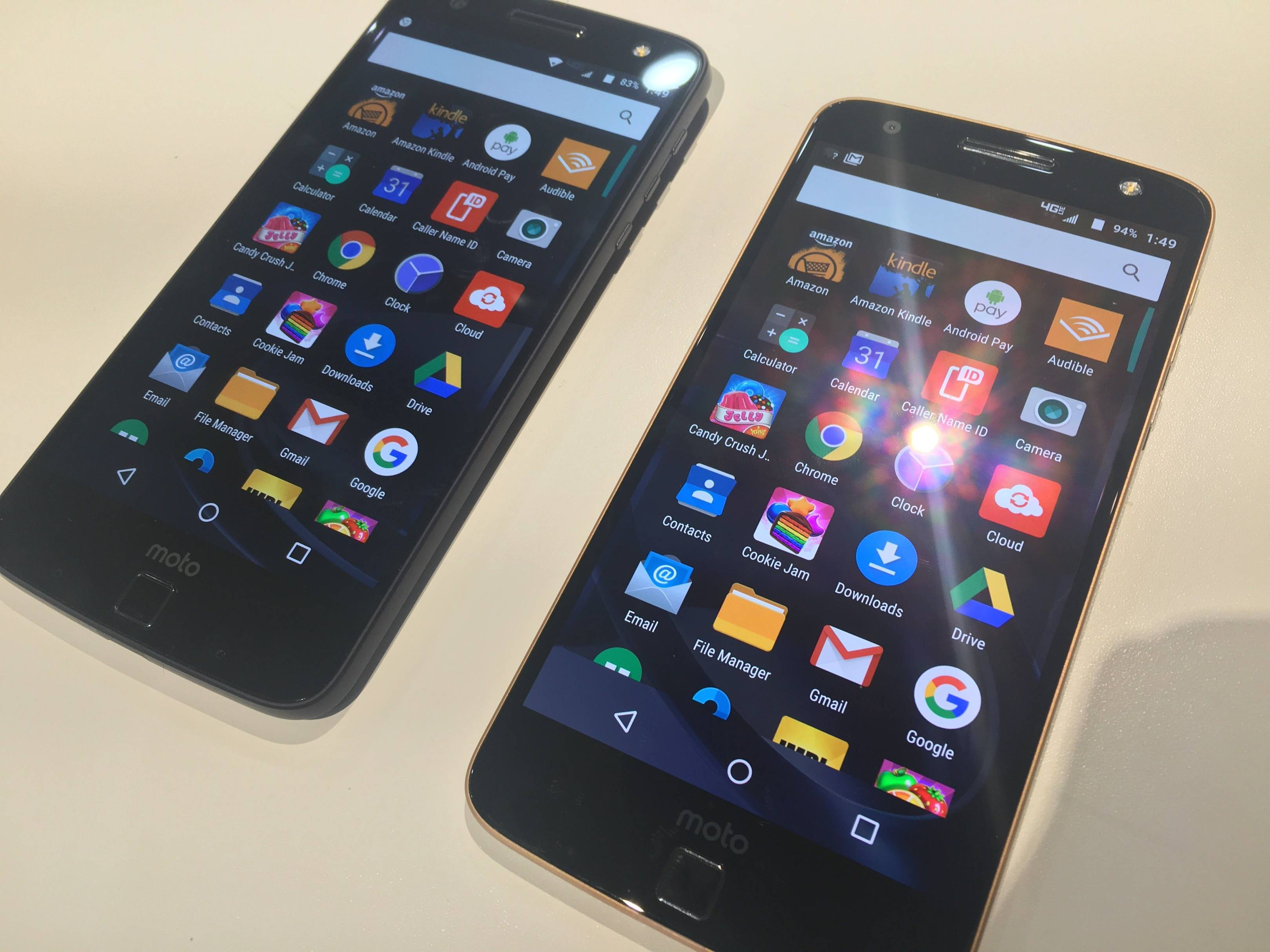 Hands-on review of Motorola's modular Moto Z and Z Force | WIRED UK