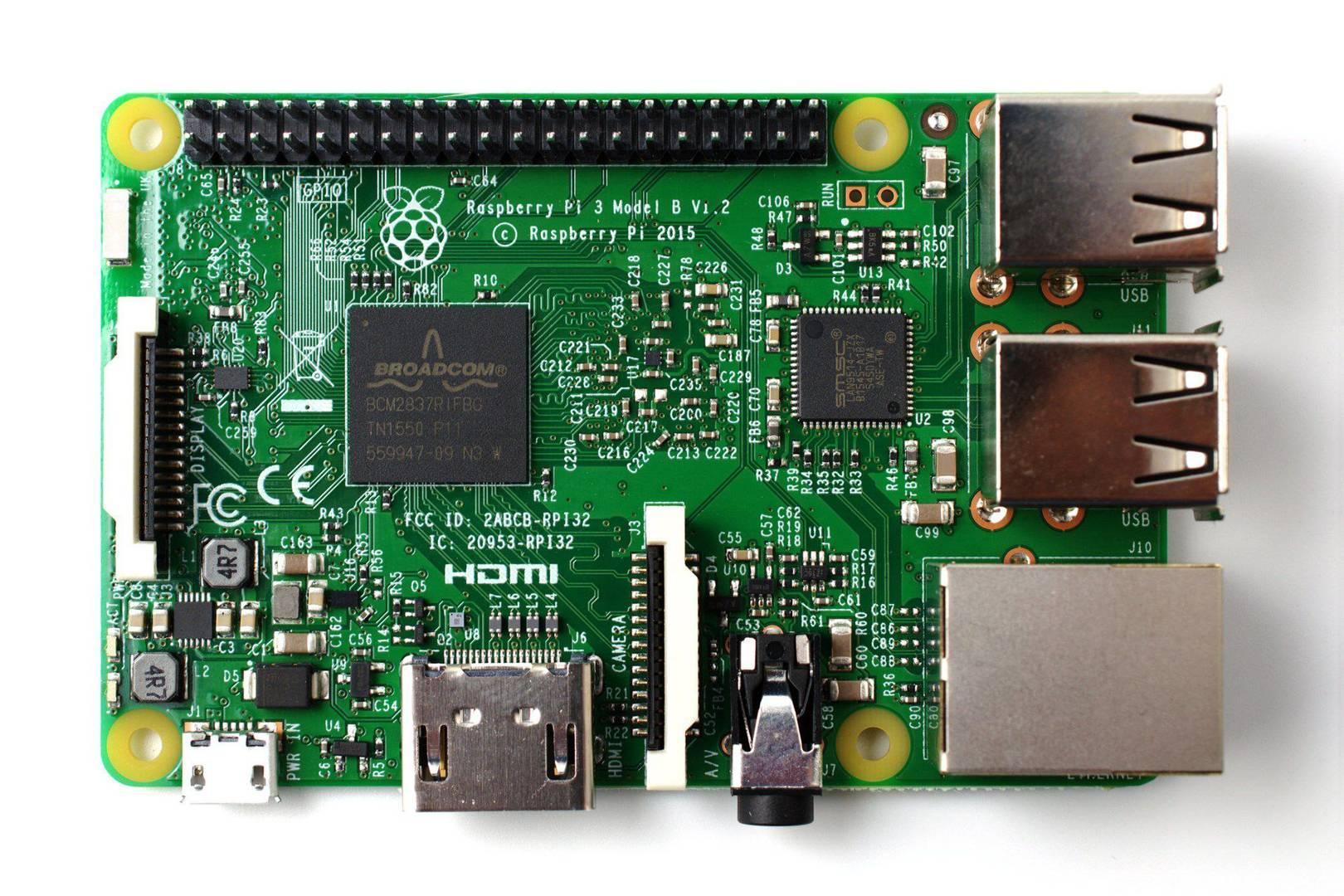 Raspberry Pi 3 Bluetooth 64bit 1.2GHz Quad Core New 2016 Wifi Model B
