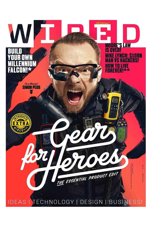 WIRED 08.15 cover star: Simon Pegg on Star Trek 3, quitting Twitter ...