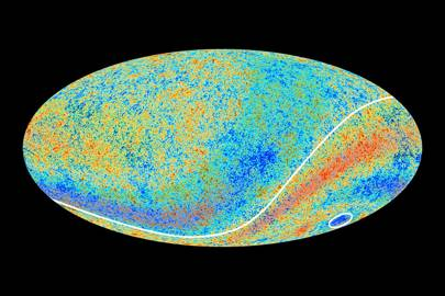 Two CMB anomalous features hinted at by Planck's predecessor, Nasa's WMAP, are confirmed in this 2013 Planck data.