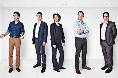 Kevin Slavin, MIT Media Lab; Giles Andrews, Zopa; Meline von Brentano, Palantir; Ed Wray, Funding Circle; Jeff Lynn, Seedrs