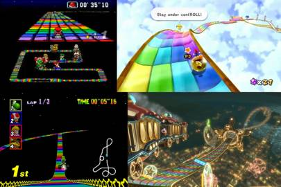 Rainbow Road (N64, but also everything)