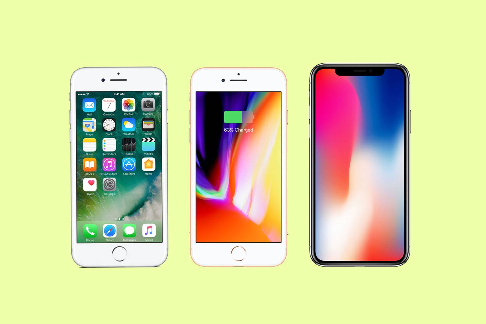 Iphone X Vs Iphone 8 Vs Iphone 7 Should You Upgrade Wired Uk