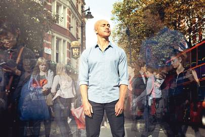 Headspace cofounder Andy Puddicombe in Cambridge Circus, London