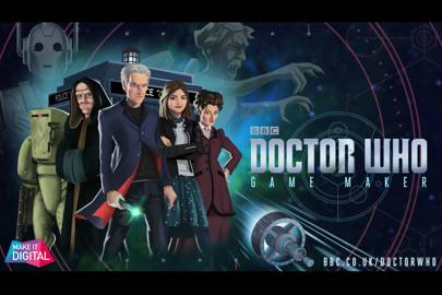 Make your own Doctor Who game online