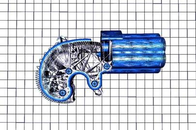 The Reprringer, a tiny, 3D-printable revolver that fires .22 calibre ammunition