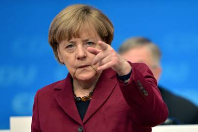 German chancellor Angela Merkel has previously confronted Facebook's Mark Zuckerberg about the social network's hate speech policies